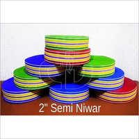 V shape Semi Plastic Niwar
