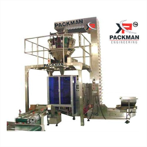 Automatic Multi Head with Collar Type Pouch Packing Machine