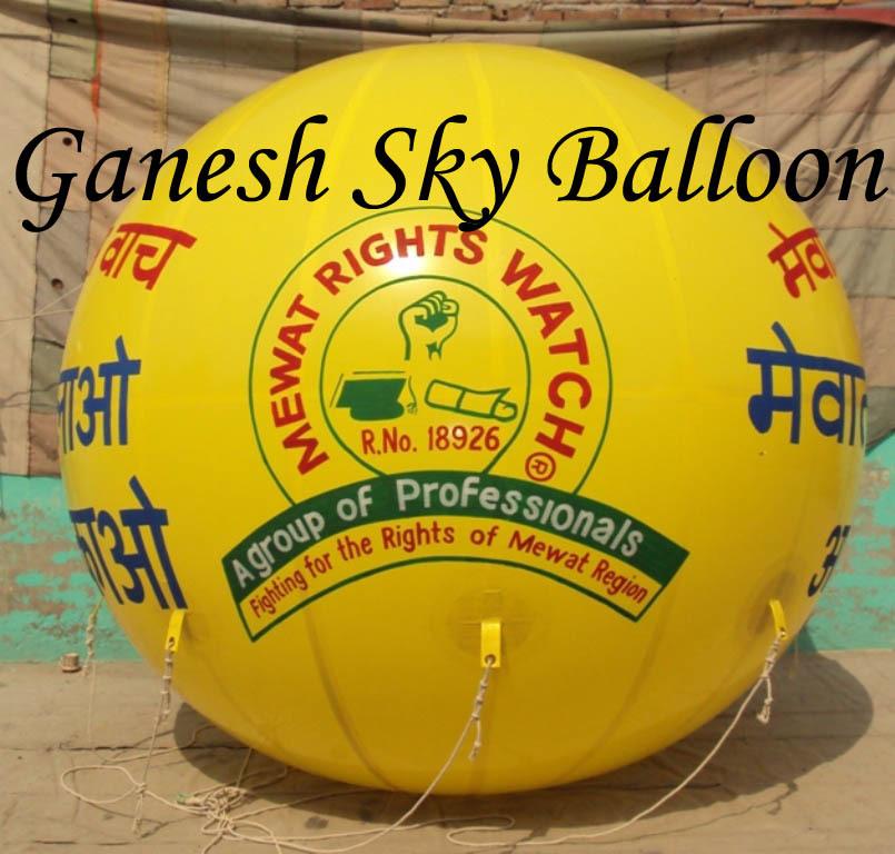 BJP Advertising Sky Balloons