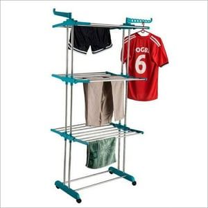 Stainless Steel Cloth Dry Hanger Stand