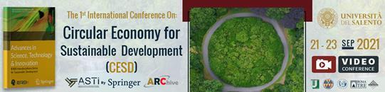 Circular Economy for Sustainable Development (CESD)