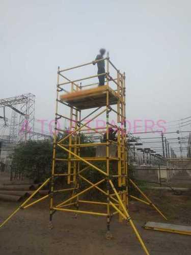 Frp scaffolding mobile platform