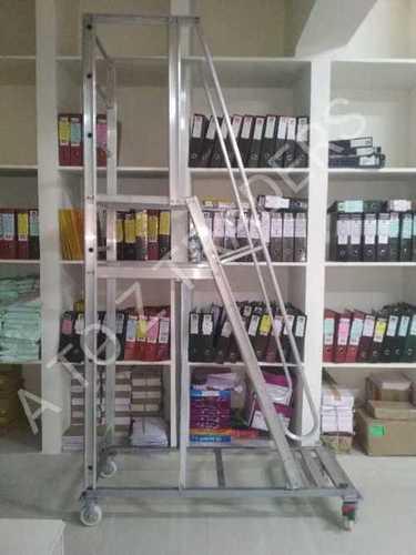 Mobile platform ladders