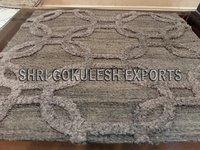 Handmade Living Room Indian Wool Flatweave Carpets