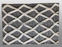 100% Handmade Rectangular Shape Wool Flatweave Decorative Carpets