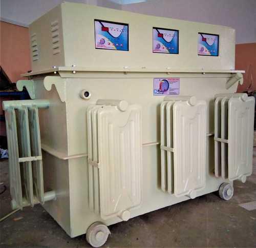 Automatic Single Variac Type Servo Stabilizer - Oil Cooled