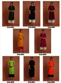 Cutemad Vol-6 Party Wear Malai Crape Kurtis With Palazzo