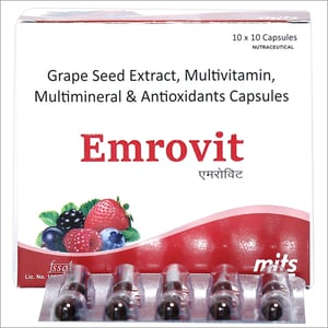 Antioxidants Multivitamin & Multimineral, Grape Seed Extract Capsules