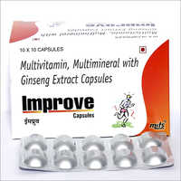 Multivitamin & Multimineral & Ginseng Extract Capsules