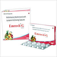 Lycopene,Ginseng with Multivitamin & Multimineral Capsules