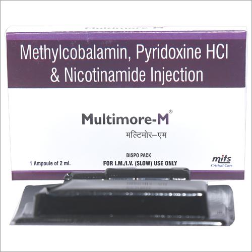Methylcobalamin , Pyridoxine HCL  & Nicotinamide Injection