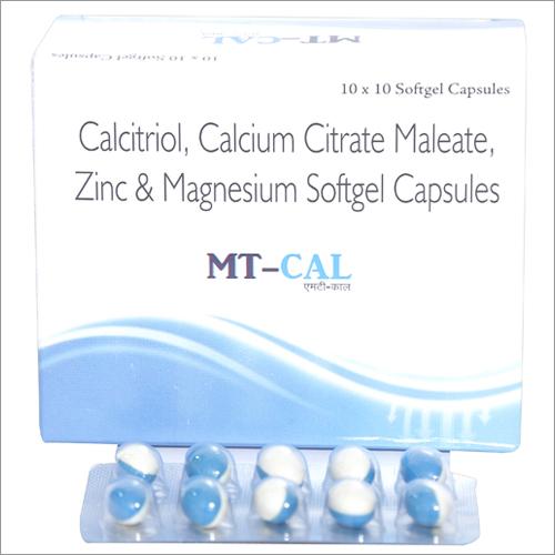 Methylcobalamin, Calcium Citrate Maleate, Omega-3 Fatty Acid, Vitamin K2-7, Folic Acid with Multiminerals Softgel Capsule