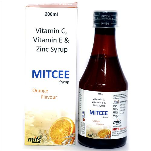 Vitamin C, Vitamin E & Zinc Syrup