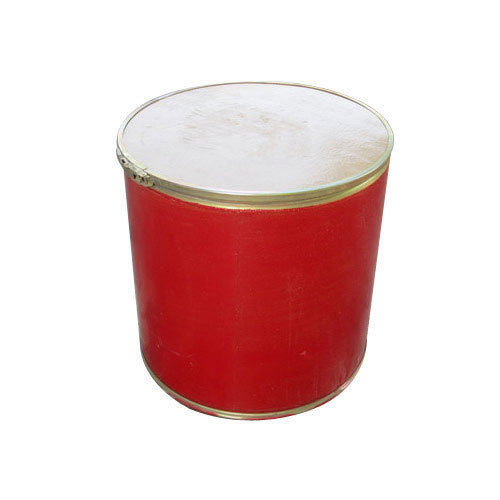 Red Color Fibre Drum