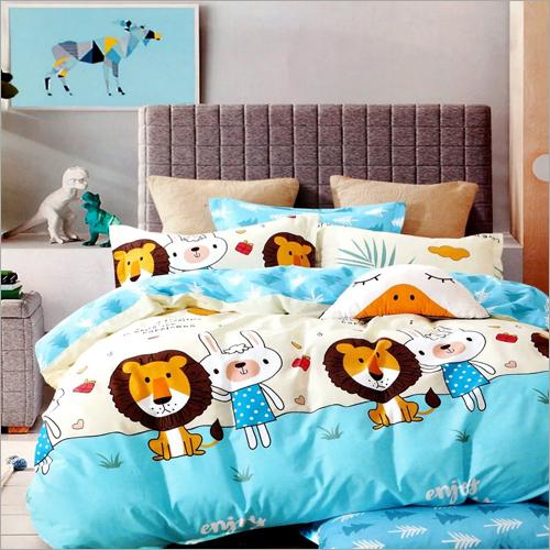Cartoon Print Soft Bedding Set