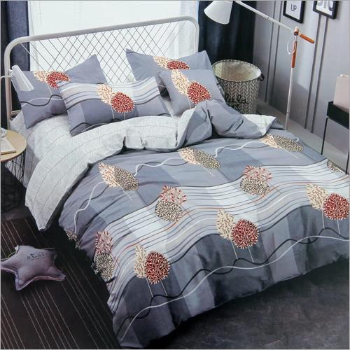 Leaf Print Bedding Set