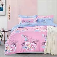 Floral Print Bedspread