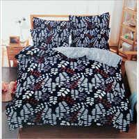 Leaf Print Bedspread