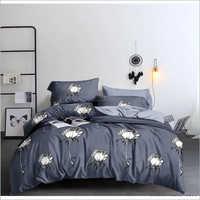 Floral Print Comforter Set