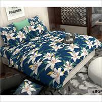 Floral Print Fancy Comforter Set