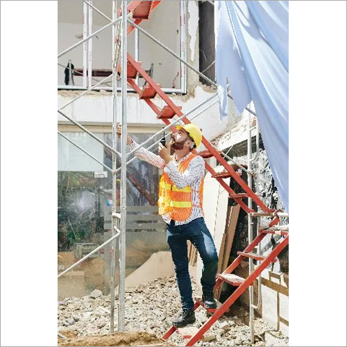 Contractor At Constuction Site