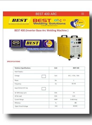 Best Arc Welding Machine 400 Amp