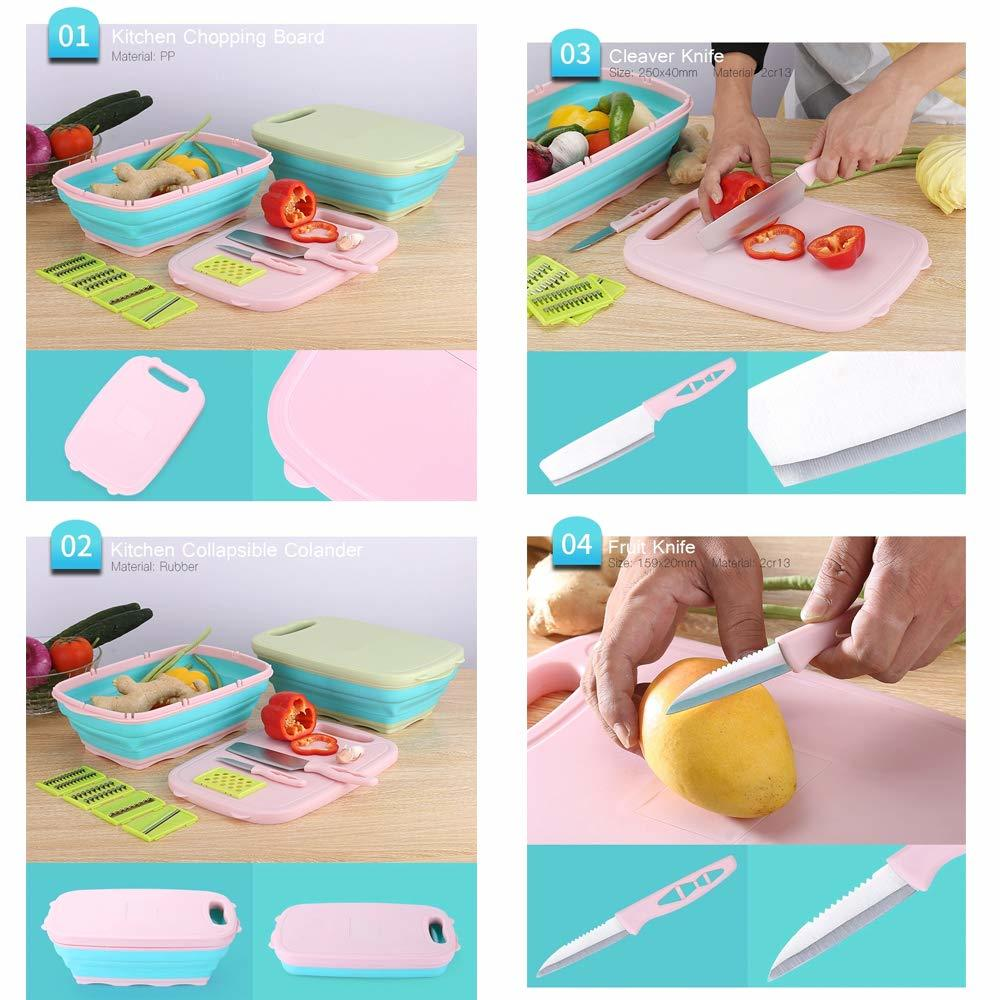 9 In 1 Multifunction Chopping Board, For Home And Kitchen