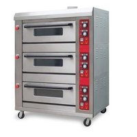 3 Deck Pizza Oven
