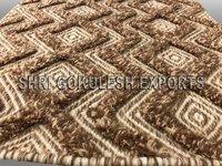 Indian Handmade Designer Wool Carpets for Living Room