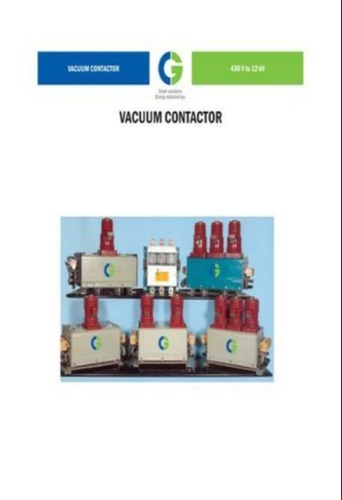 Crompton Greaves 1Pole 11&6.6kV Vacuum Contactor CS-VP11