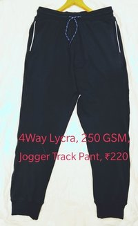4 Way Lycra Track Pant