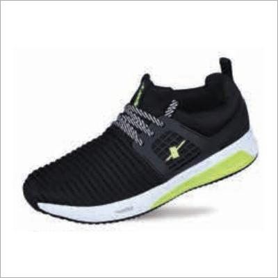 Black N Green Shoes