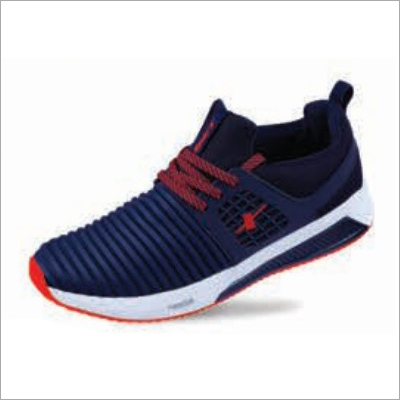 Navy Red Shoes