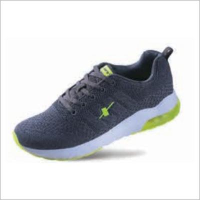C Grey N Green Shoes