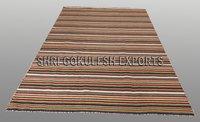 Wholesale Designer Indian Handmade Wool Flatweave Carpets
