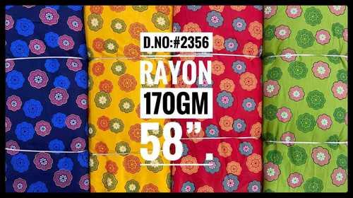 Rayon Mandala Printed Fabric
