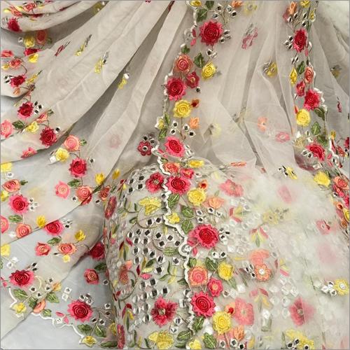 Ladies Mirror Work Anarkali Suit