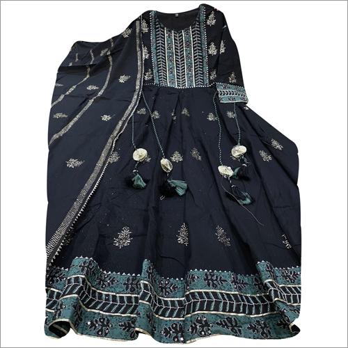 Ladies Cotton Anarkali Suit