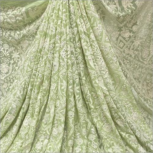 Ladies Emboridery Lehenga Fabric