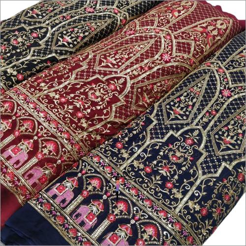 Ladies Multi Colour Fancy Lehenga Fabric