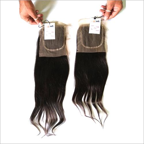 Single Donor Raw Virgin Natural Straight HD Lace Closure Hair