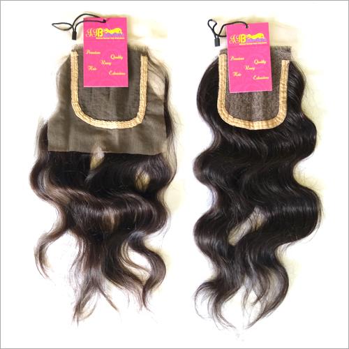 Top Quality Raw Virgin Natural Wavy Transparent HD Lace Closure Hair