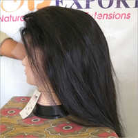 High Quality Natural Straight Hair Full Lace Wigs