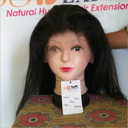 Natural Straight Hair Full Lace Wigs Certifications: Iso 9001 : 2015