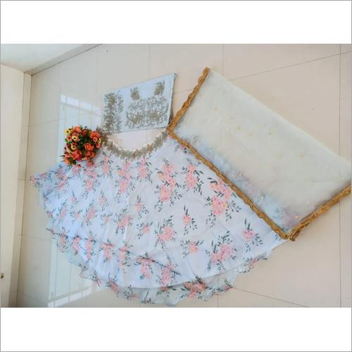 Ladies Lehenga Dress Material