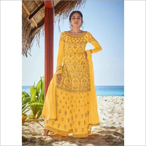 Ladies Designer Ghoomar Suit