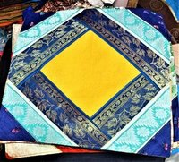 Silk Banarasi Cushion Cover