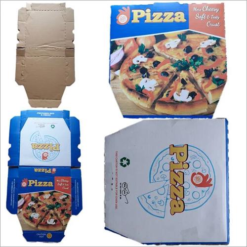 Printed Pizza Corrugated Box