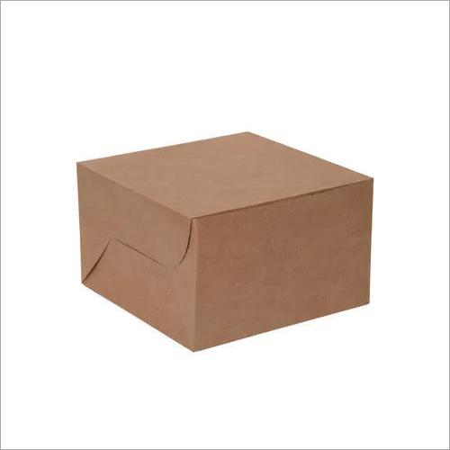 Kraft Paper Cake Box