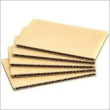 Cardboard Corrugated Sheet.